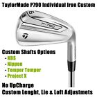 TaylorMade P790 Single Iron 3 4 5 6 7 8 9 Custom Steel - Pick One New 2019