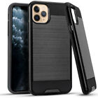 2Layer Slim Hyb Brushed Case Cover For Apple iPhone 11 PRO 5.8 / 11 Pro MAX 6.5