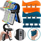 Hand Fingers Grip Trainer Gripper Strengthener Adjustable Resistance Exerciser image