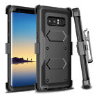 Heavy Duty Belt Clip Protective Case Cover With Clip For Samsung Galaxy Note 8