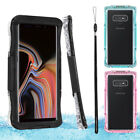 For Samsung Galaxy Note 8/Note 9 Waterproof Case Full Body Protective Clear Case
