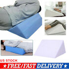 Us Bed Wedge Pillow Foam Body Positioner Elevate Support Back Neck Pain Leg Rest
