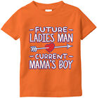 Future Ladies Man Current Mama's Boy Valentine's Day Arrow Heart  Infant T-Shirt