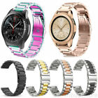 20mm For Samsung Galaxy Active 2 40mm 44mm  Stainless Steel Watch Band Bracelet image