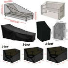 US Waterproof Outdoor Garden Patio Furniture Cover Chair Bench Seat Protection