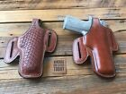 Vintage Alfonsos Brown Leather Lined Holster for Colt Commander .45 Right