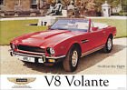 Aston Martin V8 Volante 1978 Vintage Showroom Advertising Picture Poster A1 A3+