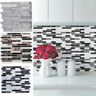 Large 3d Mosaic Stick On Wall Tile Stickers Self-adhesive Kitchen Bathroom Cover