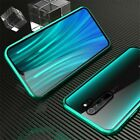 For Xiaomi Redmi Note 8 Pro Full Front & Back Glass Magnetic Bumper Case Cover