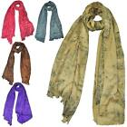 New Women's Ink Splatter Thick Comfortable Winter Warm Scarf Shawl Wrap