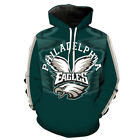 Philadelphia Eagles Hoodie Lightweight Small-XXXL 2XL Unisex Men Women Football $26.99 USD on eBay