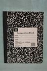 U PICK Composition Book WIDE Ruled 100 Sheets School VARIOUS COLORS 9.75 x 7.5
