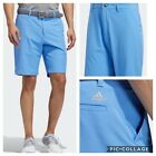 New Adidas Ultimate 365 9 inch inseam Mens Golf Shorts-Real Blue- Multiple Sizes