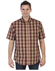 Gioberti Men Plaid Short Sleeve Shirt, Size: X-Large