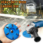 16mm Woodworking Turbo Plane For Aperture Angle Grinder Wood Carving Cutter NEW