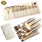 Kyпить 32pcs Pro Makeup Brush Set  Powder Foundation Eyebrow Brush Tools & Cosmetic Bag на еВаy.соm