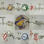 Men's American Basketball Fans Cufflinks Boys Gift Sport Multiple Team Souvenir on eBay
