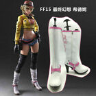 New! Final Fantasy XV Cindy Aurum cosplay Boots shoes custom Made