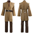 Star Wars Jedi Sith Anakin Skywalker Obi Kenobi Wan Costume Cosplay Uniform $49.99 USD on eBay