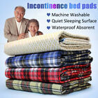 Waterproof Incontinence Bed Pad & Sheet Protectors Washable Underpads Reusable