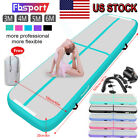 10/13/16/20FT Airtrack Air Track Floor Inflatable Gymnastics Tumbling Mat +Pump image