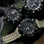 SMAEL Men Sport Black Waterproof Date Military Tactical Quartz Wrist Watches USA image