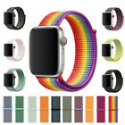 Woven Nylon Band for Apple Watch Sport Loop iWatch Series 5/4/3/2 38/42/40/44mm image