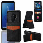 Samsung S6 S7 S8 S9 Plus S10 S10+ e Leather Wallet Stand Credit Card Case Cover