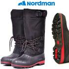 Nordman Red Tall Winter Boots W/ Metal Studs (Select Size)