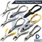 Professional Heavy Duty Nail Clippers Ingrown Thick Toenail Cutters Podiatry NEW