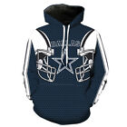 Dallas Cowboys Hoodie Lightweight Small-XXXL Unisex Football Texas Star LN2177 $26.99 USD on eBay