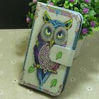 Used, 1x OWL nighthawk Wallet Card Holder flip case cover for Various Mobile phone for sale  Shipping to Nigeria