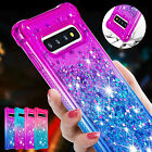 For Samsung Galaxy S20 S8S9S10 Note 1 0Plus A50A30 Girls Glitter Case Soft Cover