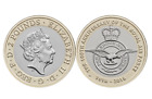 2017, 2018 £2 Two pound coin Jane Austen, Aviation, RAF, Britannia, James Cook