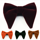 Men's Big Bowtie Novelty Wedding Tuxedo Necktie Bow Tie Classic Adjustable Hot