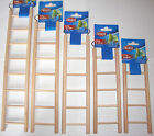 Wooden Ladder Cage Toys Bird Budgie Rodent Hamster Mouse Gerbil Degu Rat