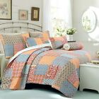 Antique Chic 3-Piece Reversible Quilt Set, Bedspread, Coverlet image