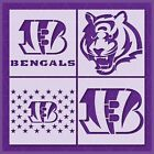 Cincinnati Bengals Stencil | Mylar (Plastic Sheet) | Reusable&Durable |  NFL $11.99 USD on eBay