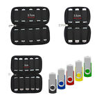 Portable U Disk Holder USB Flash Drive Organizer Case Protective Storage Bag New