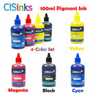 PIGMENT Ink Refill Bottles Alternative for Workforce WF-7710 WF-7720 WF-7620