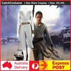 Star Wars The Force Awakens Rey Cosplay Costume Halloween Party $104.54 AUD on eBay