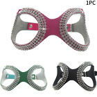 Artificial Leather Rhinestone Adjustable Dog Harness Walking Outdoor Accessories