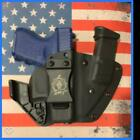 FUSION Custom Kydex Holster for the Glock 42, 43, 43x and 48 (Camo and Carbon Fi