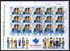 ISRAEL STAMPS 2020 THE NEW HISTADRUT CENTENNIAL SHEET ON FDC