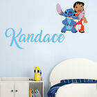 Lilo & Stitch Name Series Wall Decal Nursery Vinyl Sticker For Home Decor