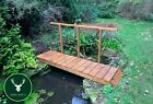 🇬🇧 Handmade Country Wooden Garden Bridge (🚛 Delivery costs vary by location)