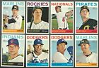 2013 Topps Heritage High Number Complete Team Set Rookie Card Logo RC Factory
