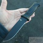 """Gerber Strongarm Fixed Knife Stainless Plain/Serrated 4.8"""" Blades Black/Coyote"""