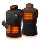 ORORO Mens Heated Vest with Battery Pack Winter Battery Vest for Skiing Hiking