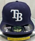 TAMPA BAY RAYS~NEW ERA~59FIFTY~AUTHENTIC~ON-FIELD CAP~NE-TECH~NAVY